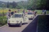 15. Nr.67. Polski Fiat 126p załogi Tomasz Kończyło i Paweł Sęczk