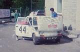 19. Polski Fiat 126p załogi Artur Orlikowski i Marcin Szyperski.