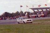 13. Piotr Urbański - VW Golf.