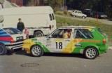 14. Dirk Lehmann i Klaus Peter Schorr - VW Golf GTi 16V.