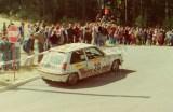 43. Eugeniusz Prażmo i Dariusz Palonka - Renault 5 GT Turbo.