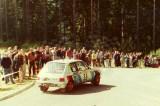 46. Jacek Jerschina i Jacek Kossakowski - Peugeot 205 Rallye.