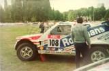 004. Erwin Weber i Manfred Hiemer - Mitsubishi Pajero.