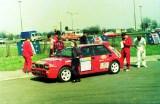 01. Lancia Integrale 16V załogi Grzegorz Skiba i Igor Bielecki.