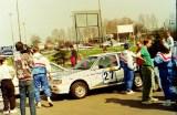 03. Mazda 323 Turbo 4wd załogi Małgorzata Zemlińska i Janusz Trz