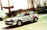 07. Toyota Celica GT4 załogi Marek Gieruszczak i Marek Skrobot.