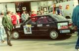 13. Subaru Legacy RS załogi Frederic Donner i Julian Obrocki.