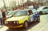 14. VW Golf GTi 16V załogi Lesław Orski i Tomasz Chmiel.