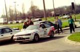 17. Toyota Celica GT4 załogi Krzysztof Hołowczyc i Robert Burcha