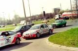 18. Ford Sierra Saphire Cosworth RS załogi Zenon Sawicki i G.Smo