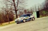 42. Romuald Chałas i Zbigniew Atłowski - Mazda 323 Turbo 4wd.