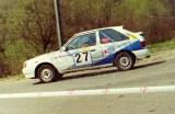 52. Małgorzata Zemlińska i Janusz Trzop - Mazda 323 Turbo 4wd.