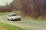 73. Waldemar Doskocz i Jarosław Baran - Peugeot 309 GTi 16S.