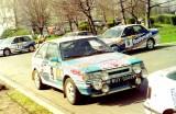 75. Mazda 323 Turbo 4wd załogi Romuald Chałas i Zbigniew Atłowsk