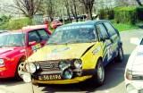 80. VW Golf GTi 16V załogi Lesław Orski i Tomasz Chmiel.