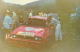 007. Grzegorz Skiba i Igor Bielecki - Lancia Integrale HF Evo.