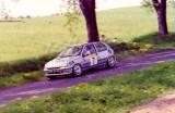 016. Bogdan Herink i Barbara Stępkowska - Renault Clio 16V.