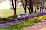 017. Romuald Chałas i Zbigniew Atłowski - Mazda 323 Turbo 4wd.
