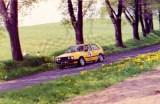 020. Włodzimierz Skrodzki i Jolanta Cieślak - VW Golf GTi 16V.