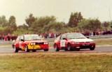 06. Nr.111.Andrzej Mielcarek - Honda Civic, nr.149.Piotr Bednare