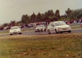 11. Nr.142.Jerzy Dyszy - Ford Fiesta XR2i, nr.157.Tomasz Dąbrows