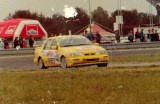 18. Cezary Fuchs - Ford Sierra Saphire Cosworth RS.