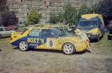 001. Ford Sierra Saphire Cosworth RS załogi Kurt Victor i Geert