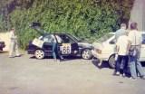 004. Renault 19 16V załogi Jerzy Skadorwa i Ryszard Hupajło.