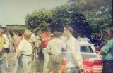 009. Patrick Snijers startuje samochodem Ford Escort Cosworth RS