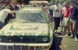 010. Lancia Integrale HF 16V Evo załogi Pierre Cesar Baroni i De