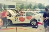 011. Ford Escort Cosworth RS załogi Andrzej Chojnacki i Piotr Na