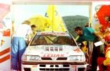 54. Piotr Kufrej i Maciej Hołuj - Nissan Sunny GTiR.