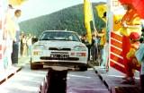 58. Andrzej Chojnacki i Piotr Namysłowski - Ford Escort Cosworth