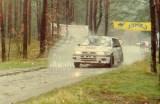 13. Piotr Kufrej i Maciej Hołuj - Nissan Sunny GTiR.