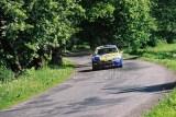 13. Damian Jurczak i Ryszard Ciupka - Fiat Punto Super 1600.