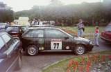 03. Suzuki Swift GSi 16V załogi Piotr Granica i Marek Kaczmarek.
