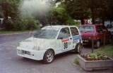 06. Fiat Cinquecento załogi Piotr Gadomski i Romuald Porębski.