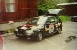 09. Suzuki Swift GTi 16V załogi Piotr Granica i Marek Kaczmarek