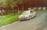 15. Kurt Gottlicher i Michael Moser - Ford Escort Cosworth RS.