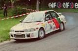 19. Hideaki Miyoshi i John Kennard - Mitsubishi Lancer RS Evo.