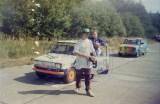 015. Nr.119.Piotr Galik, nr.118.Mariusz Borczyk - Polskie Fiaty
