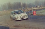 15. Robert Kępka i Klaudiusz Rak - Renault Clio Williams.