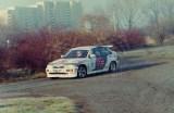 16. Cezary Fuchs i Andrzej Górski - Ford Escort Cosworty RS.