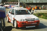 07. Stanisław Chowanec i Henrich Kurus - Ford Escort Cosworth RS