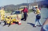 18. Piotr Wróblewski i Marek Kaczmarek - Toyota Corolla GTi 16V
