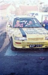 15. Piotr Wróblewski i Marek Kaczmarek - Toyota Corolla GTi 16V