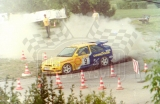 012. Jan Mortensen i Finn Mogensen - Ford Escort Cosworth RS