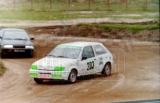 10. Adam Polak - Ford Fiesta XR2i, Piotr Granica - Suzuki Swift