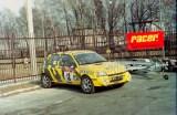 2. Renault Clio Williams załogi Marcin Keller i Tomasz Hajto
