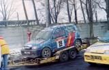 4. Fiat Cinquecento załogi Jacek Sikora i Marek Kaczmarek